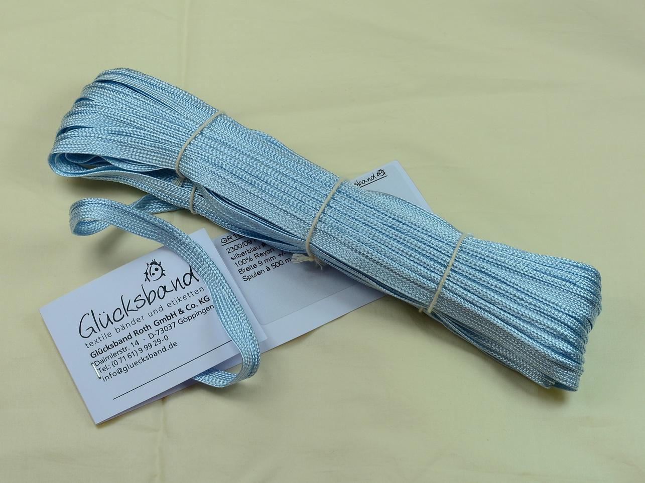 Flechtbiese silberblau