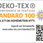 OEKO-TEX Produktklasse I Anhang 6