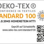 OEKO-TEX Standard 100 Produktklasse I Anhang 4